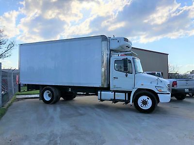 Hino Reefer Van Box Truck Refrigerated Insulated Diesel Automatic Under Cdl 2010
