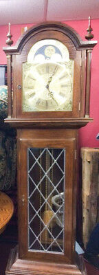 Mahogany Westminster Chime Grandfather Clock