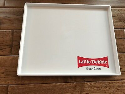 """Vintage Little Debbie Snack Cakes Tray Melamine 10"""" By 12"""" Wescon Corp Ma, Usa"""