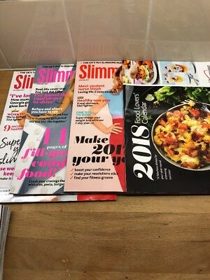 SLIMMING WORLD MAGAZINES BACK ISSUES X 3 VGC 2017/18 Recipes Cooking