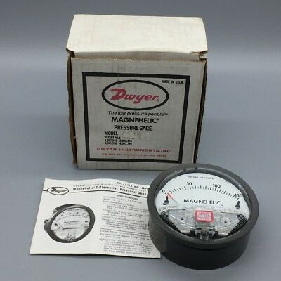 "New Dwyer Magnehelic Differential Pressure Gauge 0""-150"" Of Water Pn# 2150C"