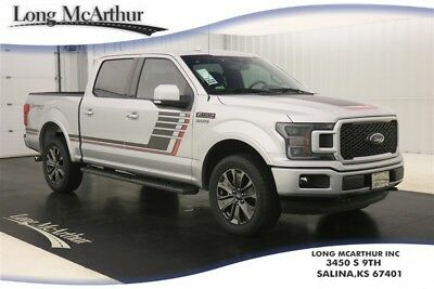 Ford F-150 4WD LARIAT 4X4 3.5 V6 ECOBOOST SUPER CREW SHORT BED MSRP $61525 LARIAT SPECIAL EDITION PACKAGE 4WD 4 DOOR NAV SUNROOF SECOND ROW HEATED SEATS