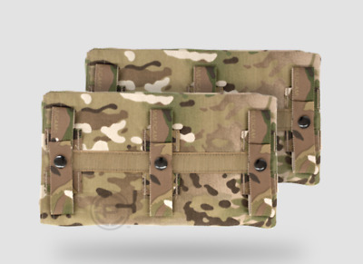 NEW Crye Precision JPC Long Side Armor Pouch Set Multicam Size 2