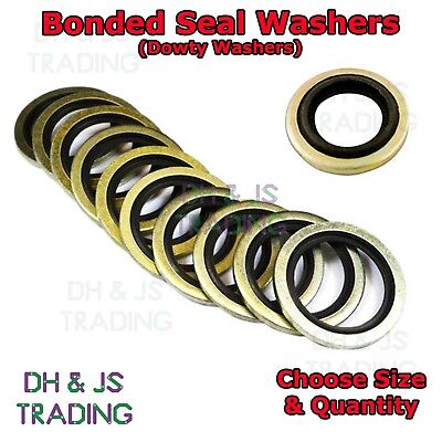Bonded Seal Washers - Dowty Sealing Washer Hydraulic Oil Petrol Sealing Washers