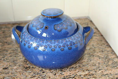 Denby - Midnight - Large Casserole Pot With Handles  - Excellent Condition
