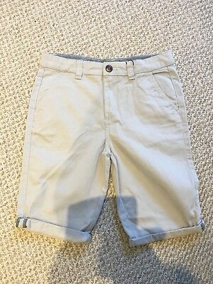 Boys Age 10-11 Chinos Beige Shorts