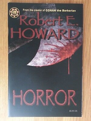 Robert E. Howard Horror ( Creator of Conan the Barbarian ) Cross Plains Comics