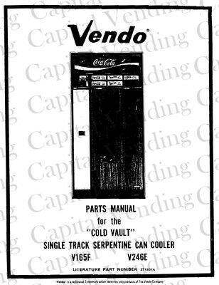 VENDO COIN CONTROL Mechanisms Parts and Service Manual For