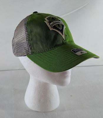 promo code 24275 14342 LZ Adidas Adult One Size Seattle Sounders FC Soccer MLS Baseball Cap Hat  NEW 3
