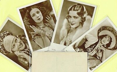 ROSS VERLAG - 1930s Film Star Postcards produced in Germany #4746 to #4844