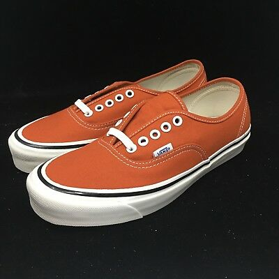 Vans Authentic Anaheim Factory 44 Dx Orange White Gum bottom VN0A38ENMR8 9b9295e1b