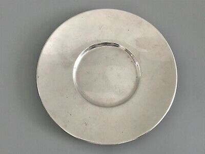 "Antique Solid Sterling Silver Tiffany & Co. Plate 5"" / 133g"