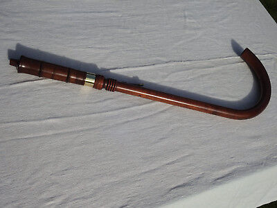 TENOR CRUMHORN MADE in 70s by the Early Music Shop scarcely used