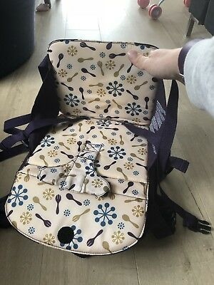 Munchkin Travel Booster Dining Seat 12-36m Foldable Adjustable Height