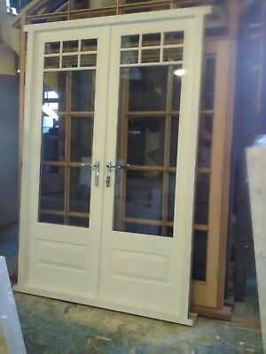 Wooden Timber French Door!!! Made To Measure!!!Bespoke!!! Made From Hardwood