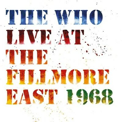 The Who - Live At The Fillmore East [New CD] Digipack Packaging