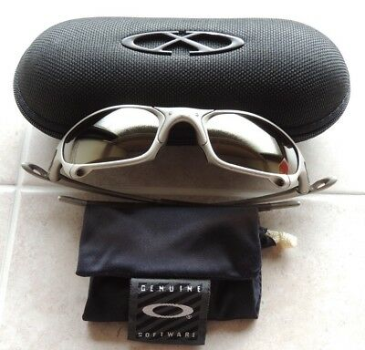 Oakley Juliet Sunglasses 1st Generation Gold Iridium Lenses with X Metal Case