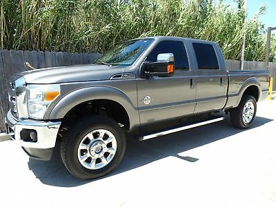Ford Super Duty F-250 Pickup Lariat 92k Miles 2011 Ford Superduty F250 Lariat Crew Cab 4x4 6.7L Powerstroke Turbo Diesel