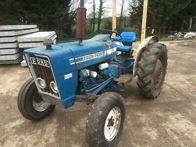 Ford 3600 tractor