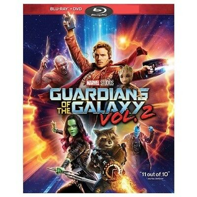 Guardians of the Galaxy Vol. 2 (Blu-ray/DVD, 2017) *Digital NOT included