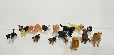 Schleich Generic/No brand Animals lot of 14 Dogs