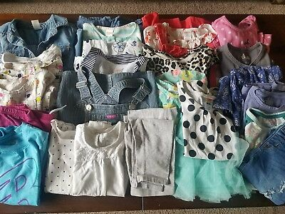 Girls Size 5T Spring 25 Pc Lot