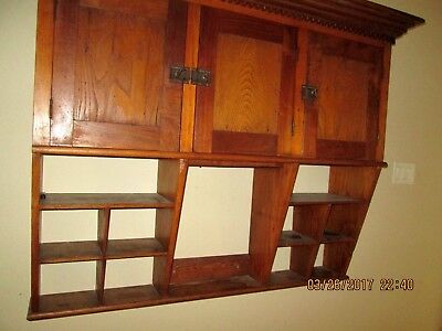 Hanging Wooden Shelf A Great Piece Terrific Condition 1940's A Must See