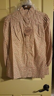 Frontier Classics Old West Clothing, Women's Blouse, Size L, New