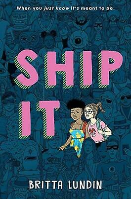 Ship It by Britta Lundin Hardcover Book Free Shipping!