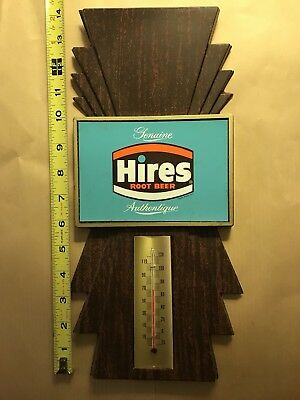 Hires root beer thermometer Plastic
