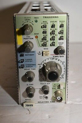 Tektronix 7B85  Delta Delaying Time Base from working Oscilloscope 7834