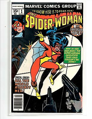 Spider-Women #1 Vf/nm Special Origin All The World Against Her!!!!