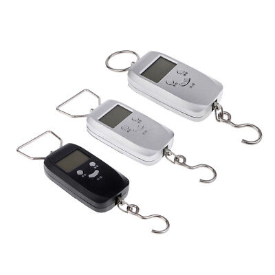 110lb 50kg Electronic Digital Fish Luggage Hanging Hook Scale LCD Backlight