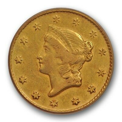 1849 O G$1 Gold Dollar PCGS VF 30 Very Fine to XF New Orleans Mint