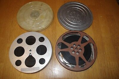 2 Reels Vintage 16MM Home Movies 1947 SS Manitoba, Trans Canada Airlines, Family
