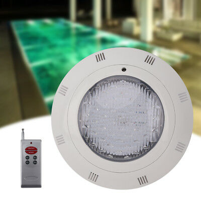 18W 7-Color RGB 12V LED Swimming Pool Light Lamp Underwater + Remote Control