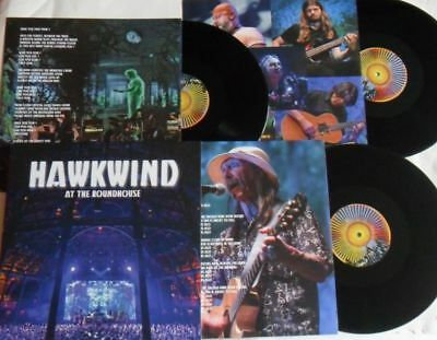 LP HAWKWIND At The Roundhouse (3LP) Cherry Red bredt721 - STILL SEALED