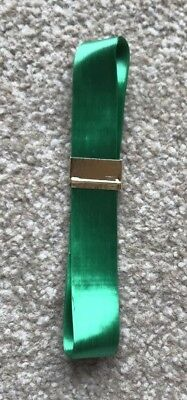 BRAND NEW 2.75m x 2cm SHINY GREEN RIBBON FOR CAKE DECORATING, GIFT WRAPPING