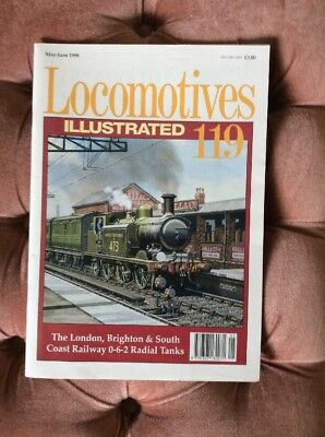 Locomotives Illustrated No 119 May-June 1998 - Used and in good condition