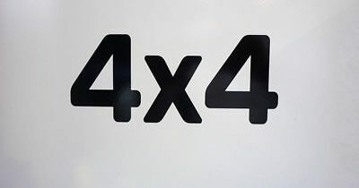 "JCB ""4x4"" Vinyl Decal for 3CX and 2CX"
