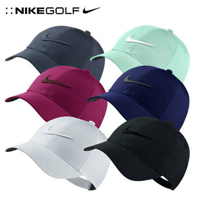NIKE Womens Legacy91 Tech Golf Cap Black White Navy Hat 892764 Authentic  Mens 003ef9a5720a