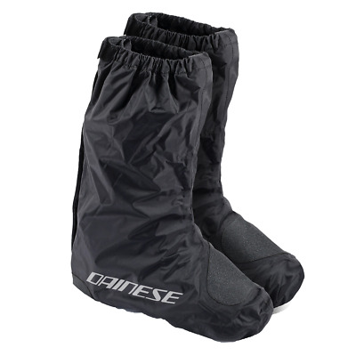 Dainese Rain Black Moto Motorcycle Motorbike Waterproof Over Boots | All Sizes