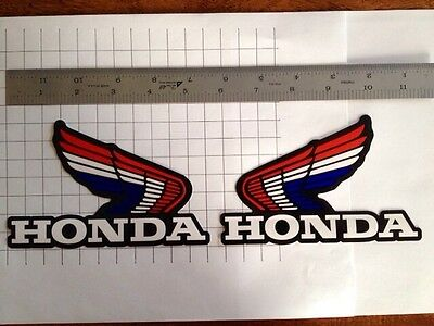 1983 1984 1985 1986 1987 Honda ATC250R fuel tank wing decal stickers HRC TRX 250