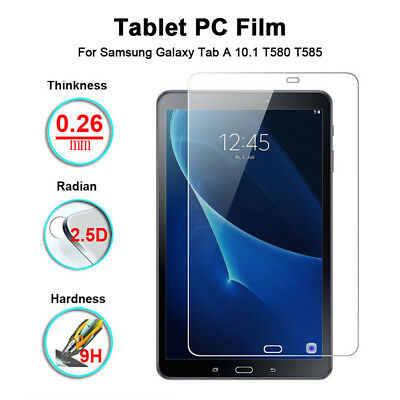 Tempered Glass Screen Protector Tablet For Samsung Galaxy Tab A 10.1 T580 T585