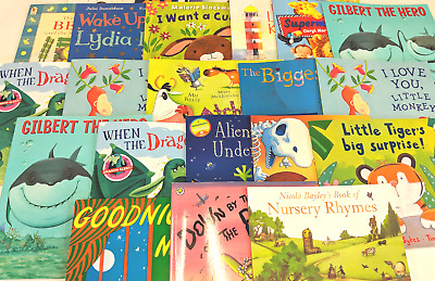 Joblot/Wholesale BOX of 50 CHILDREN'S STORY BOOKS  - BUNDLE – HIGH QUALITY