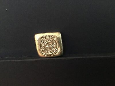 50 gram .999 pure silver hand poured ingots by monarchs. Item 4