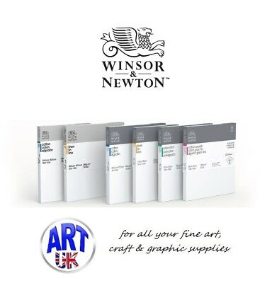 Winsor & Newton PROFESSIONAL CANVAS COTTON DEEP EDGE Metric Artists Oil/Acrylic