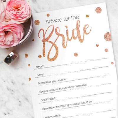 x25 Hen Party Accessories Advice To The Bride Hen Party Games Cards Wisdom Words