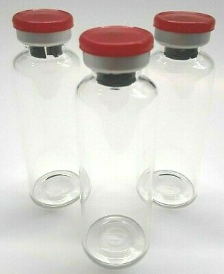 30mL Sterile Clear Glass Vials - 5 Pack - FREE SHIPPING