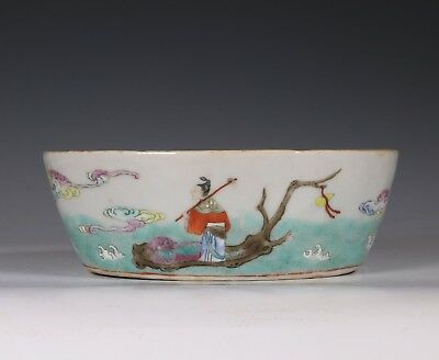 Chinese Famille Rose Bowl Jiaqing Mark And Period E19Thc